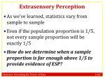 extrasensory perception4