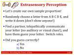 extrasensory perception5