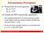 extrasensory perception8