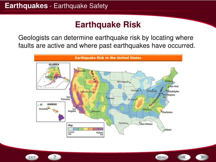 - Earthquake Safety