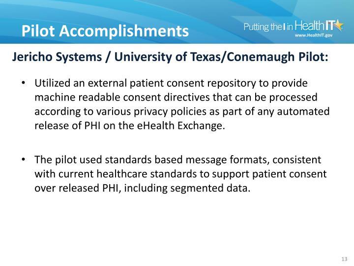 Jericho Systems / University of Texas/