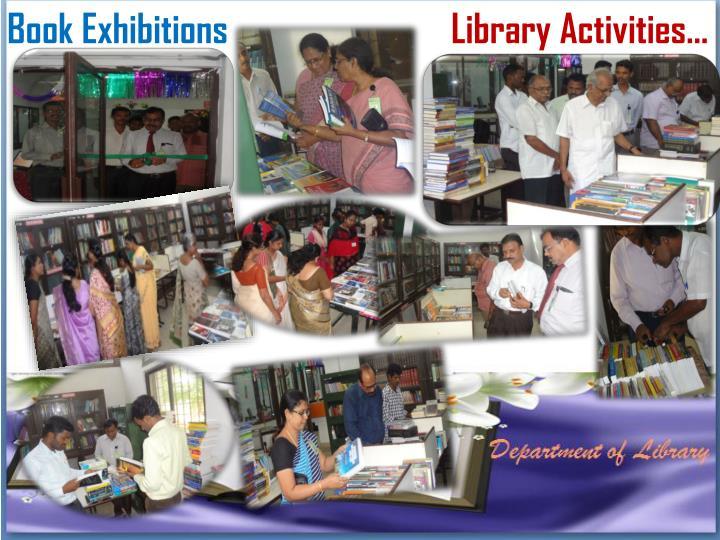 Book Exhibitions