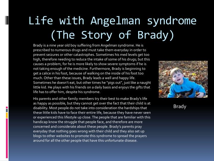 Life with Angelman syndrome