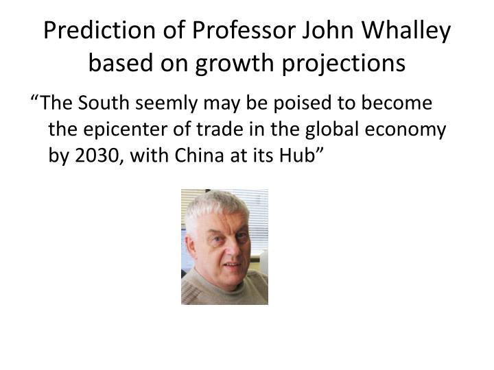 Prediction of Professor John