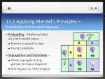 11 2 applying mendel s principles probability and punnett squares