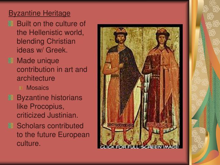 Byzantine Heritage