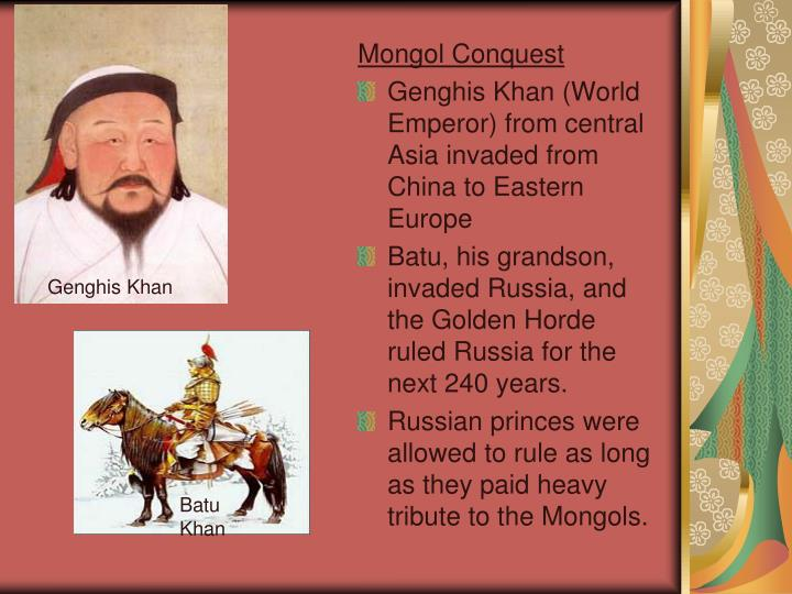 Mongol Conquest