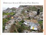 mercalli scale xii in la paz bolivia