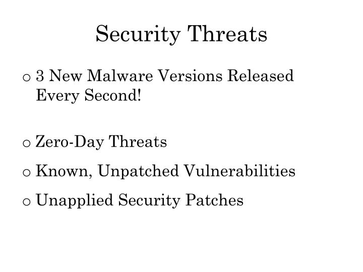 Security Threats