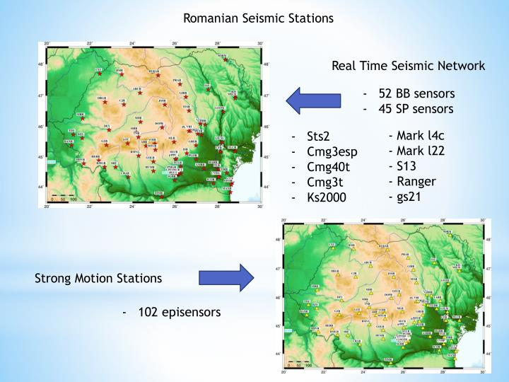 Romanian Seismic Stations