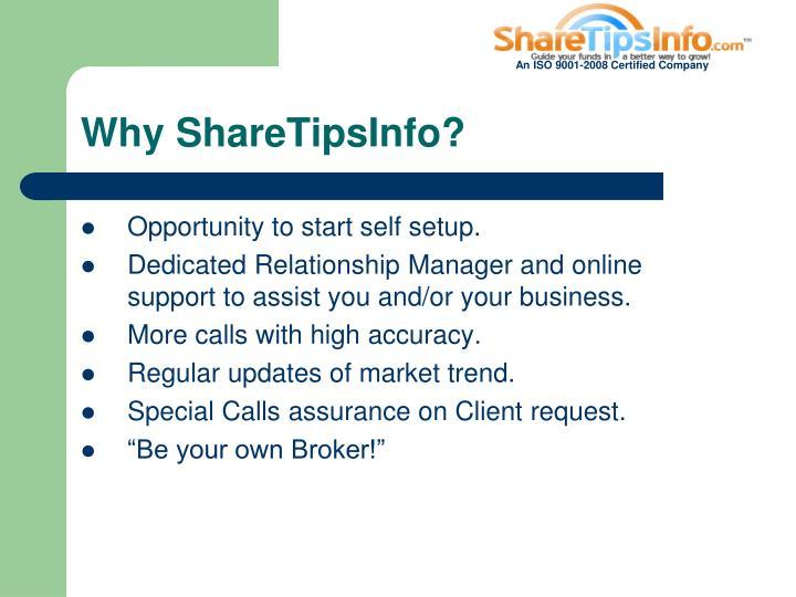 Why ShareTipsInfo?