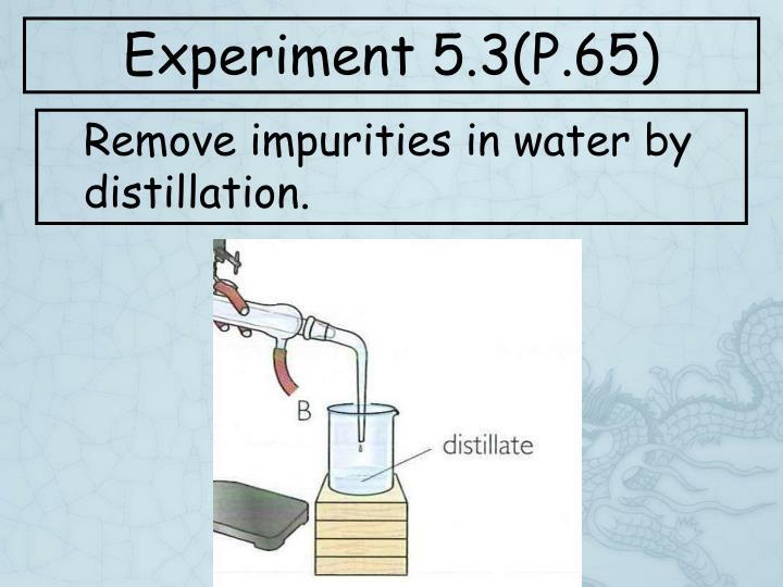 Experiment 5.3(P.65)