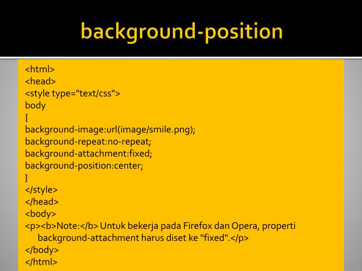 background-position