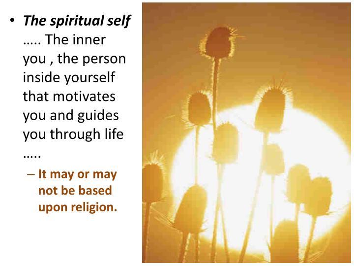 The spiritual self