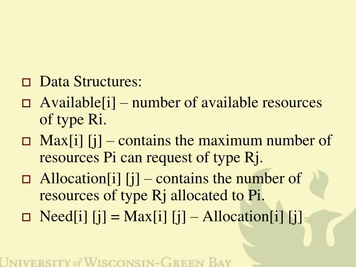 Data Structures: