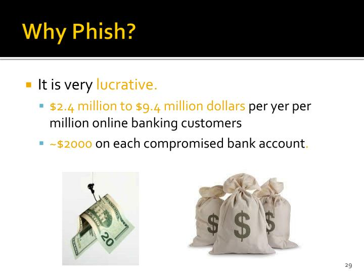 Why Phish?