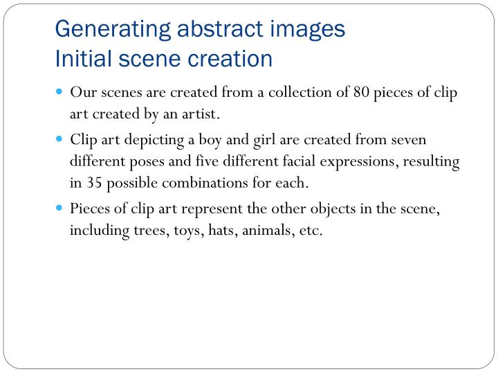 Generating abstract