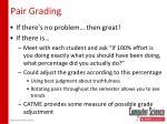 pair grading