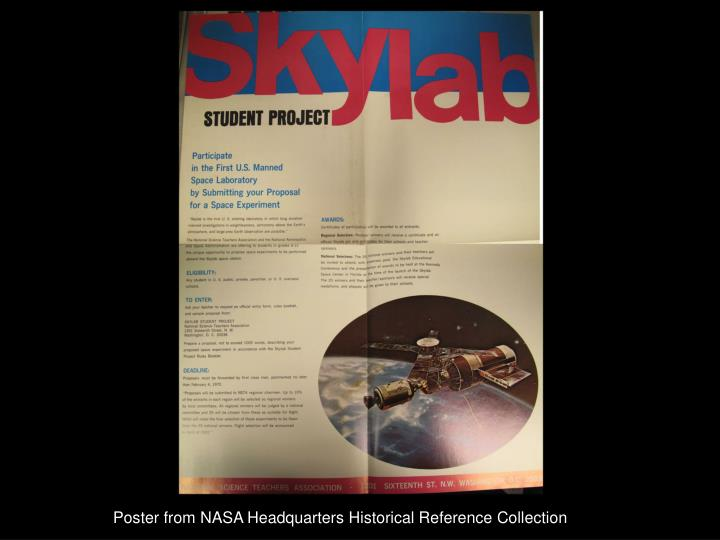 Poster from NASA Headquarters Historical Reference Collection