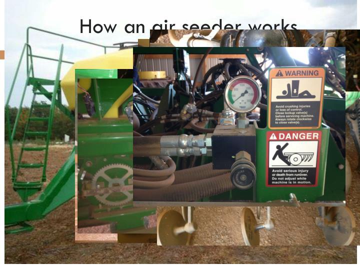 How an air seeder works