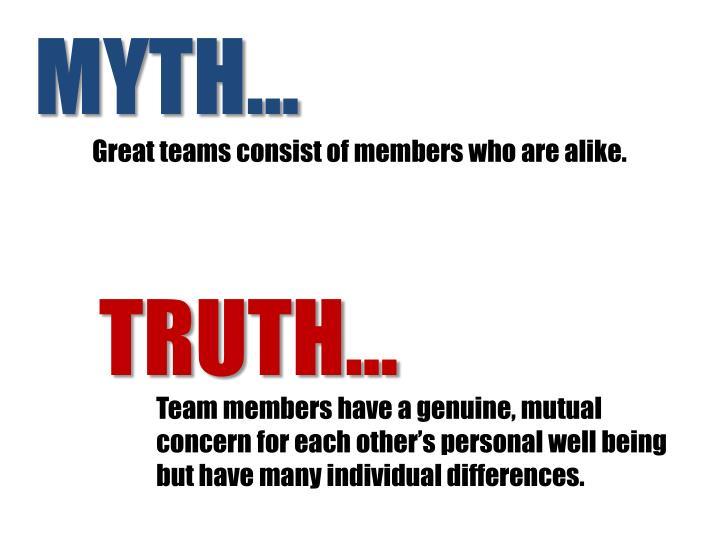 MYTH…