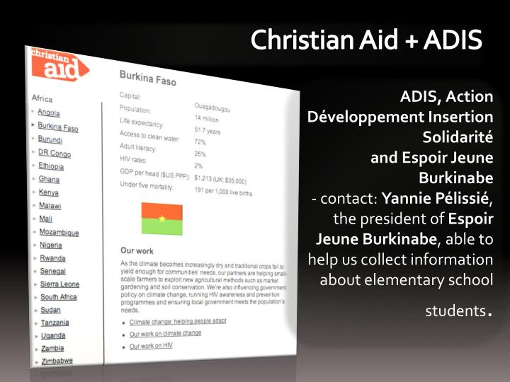 Christian Aid +