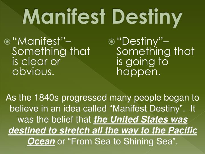 """Manifest""– Something that is clear or obvious."
