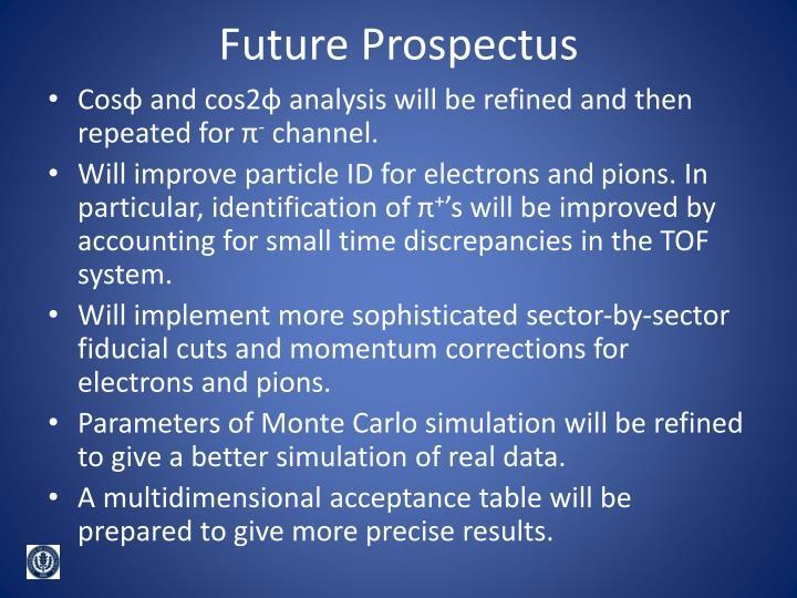 Future Prospectus