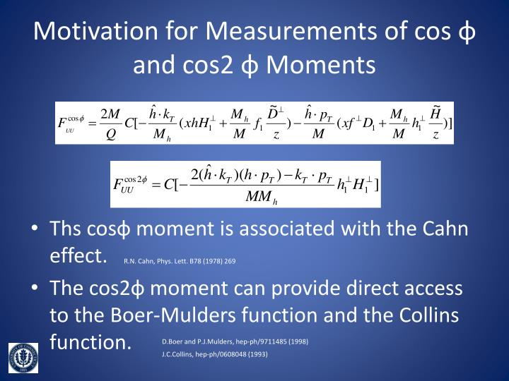 Motivation for Measurements of