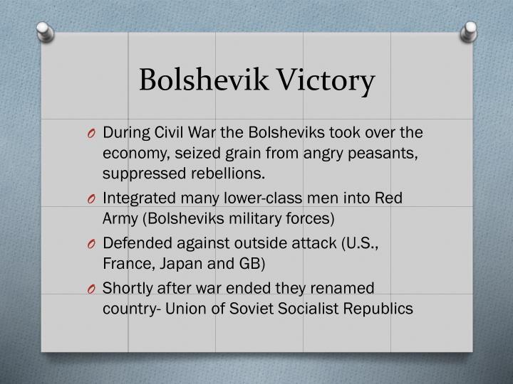 Bolshevik Victory