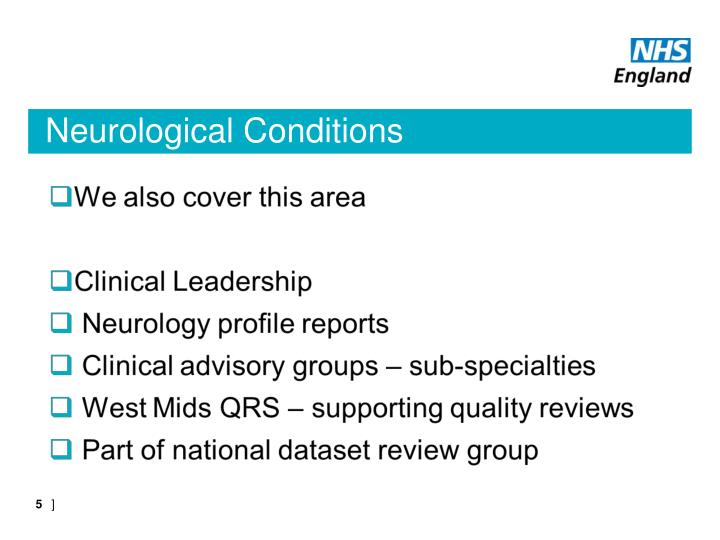 Neurological Conditions