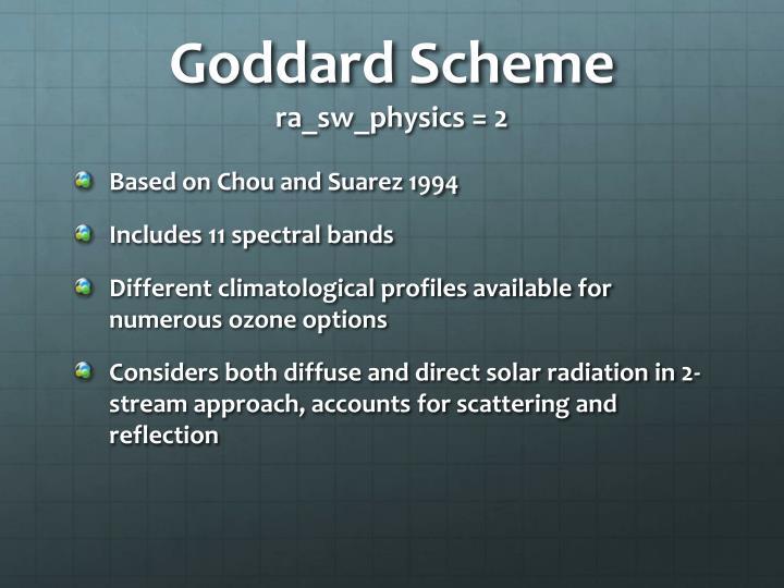 Goddard Scheme