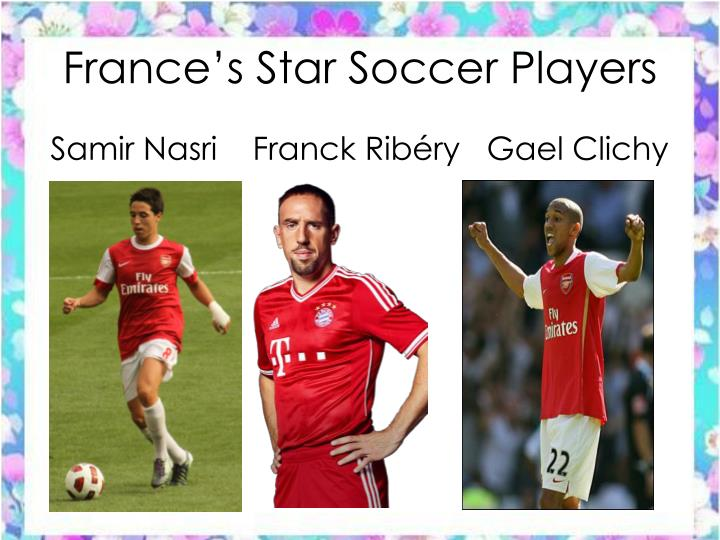France's Star Soccer Players