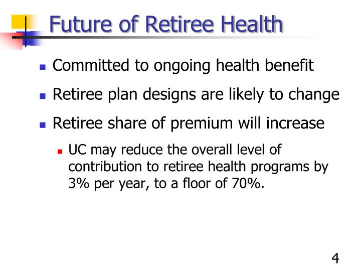 Future of Retiree Health