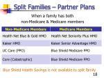split families partner plans