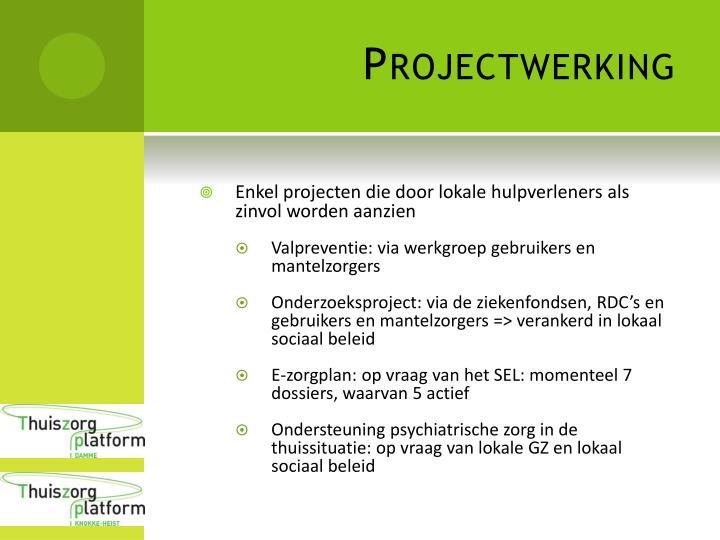 Projectwerking