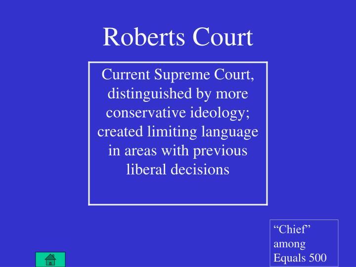 Roberts Court
