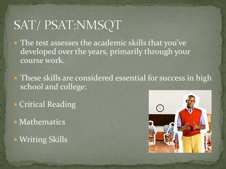 SAT/ PSAT:NMSQT