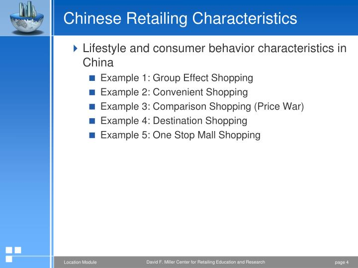 Chinese Retailing Characteristics