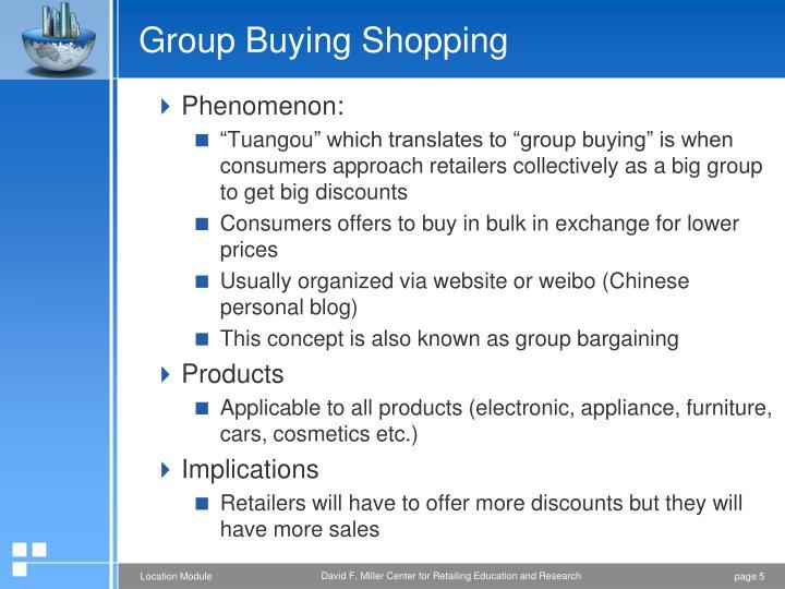 Group Buying Shopping