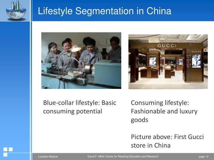 Lifestyle Segmentation in China