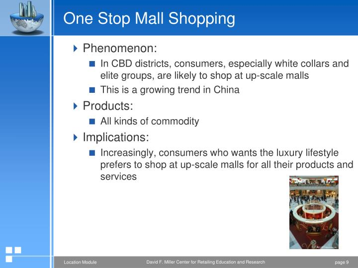 One Stop Mall Shopping