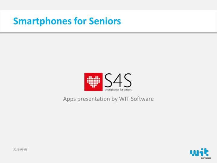 smartphones for seniors