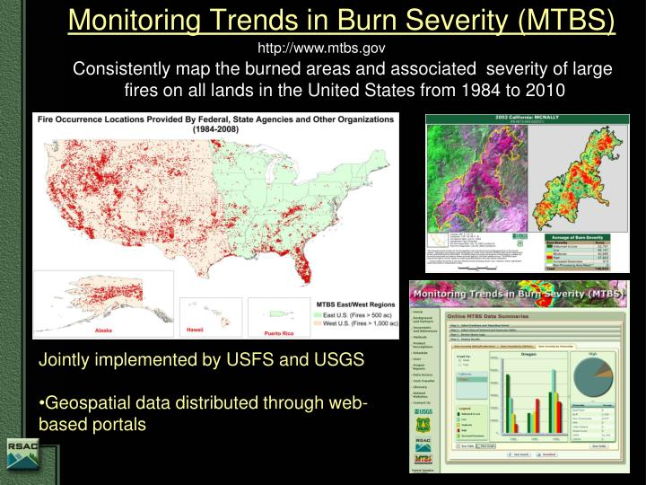 Monitoring Trends in Burn Severity (MTBS)