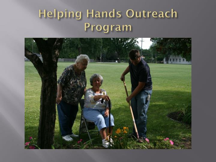 Helping Hands Outreach Program