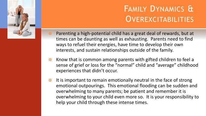 Family Dynamics & Overexcitabilities