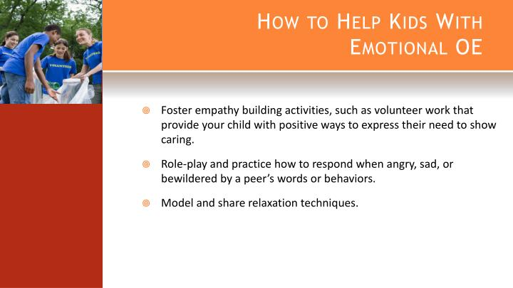 How to Help Kids With