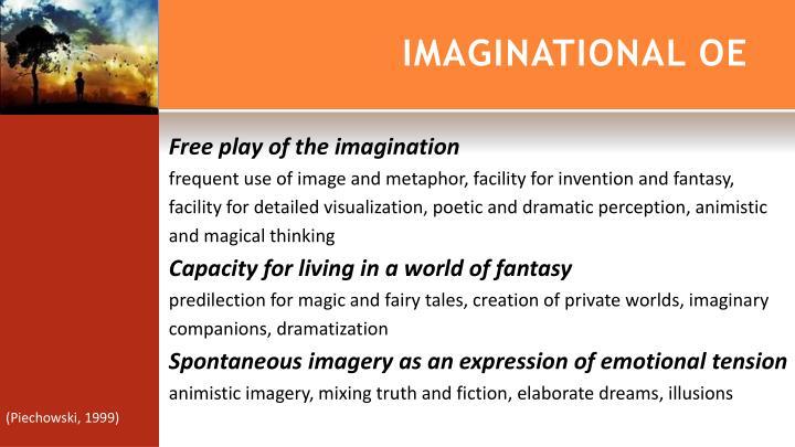 IMAGINATIONAL OE
