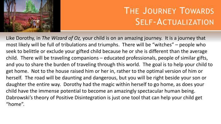 The Journey Towards
