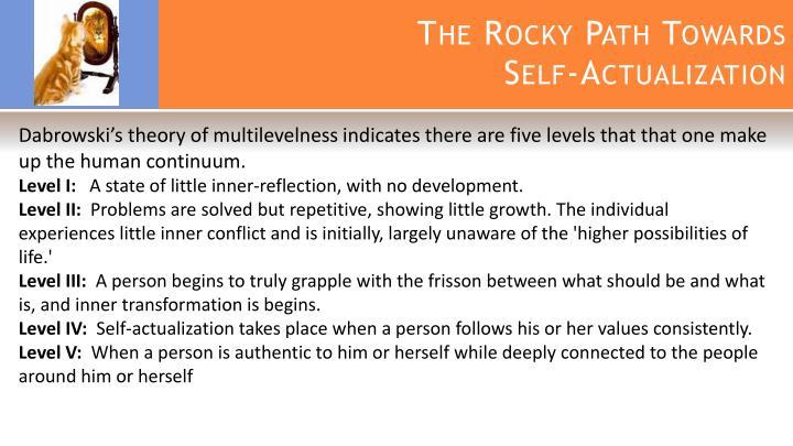 The Rocky Path Towards